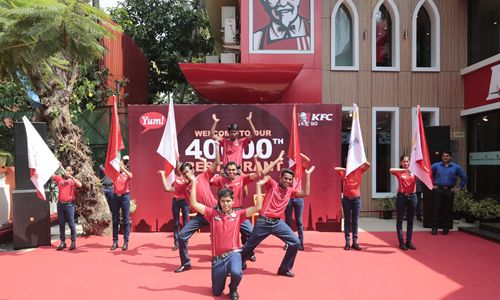 Yum! Brands Announces Opening of 40,000th Restaurant with KFC in Goa, India