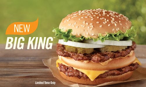 Burger King Introduces the new Big King Sandwich