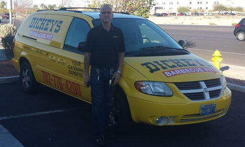 Dickey's Barbecue Pit in Las Vegas Throws Big Celebration with Mr. Dickey