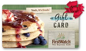 First Watch Announces Holiday Gift Card Promotion
