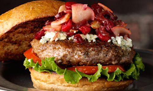 Fuddruckers Unveils 'Autumn in a Bun'; Gourmet Turkey Burger Available