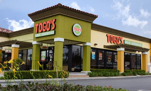 Togo's Continues California Expansion With Signing Of Franchise Agreements To Develop Nine New Restaurants