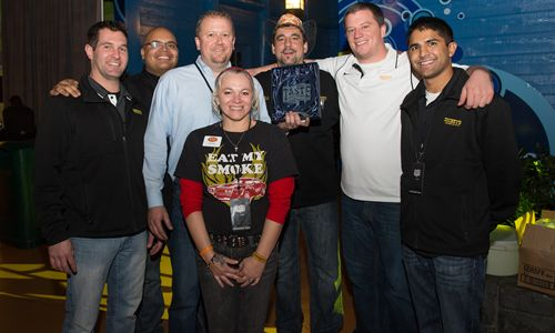 Dickey's Barbecue in Minnesota Wins First Place at Taste of the Vikings Event