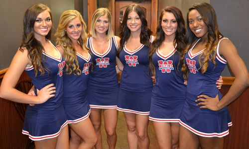 Walk-On's Waitresses Unveil 'All-American Cheerleader' Uniforms