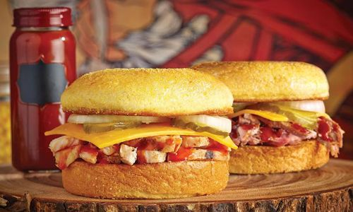 Dickey's Barbecue Offers a Kick in the Taste Buds with New Cornbread Sandwiches