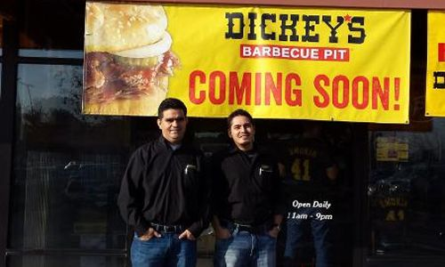 Dickey's Barbecue Pit Throws Party for New Turlock Restaurant