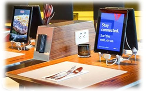 Table-Top Tablets - A Boon for Restaurants and Diners with Food Allergies