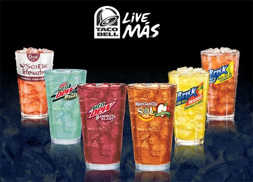 Taco Bell Embarks on Largest Expansion of Beverage Menu in Company History with Six Unique Flavors