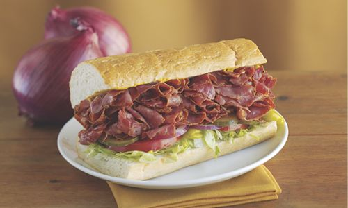 Togo's To Give Away 10,000 Big, Fresh, Meaty Pastrami Sandwiches In Honor Of National Pastrami Day, Jan. 14
