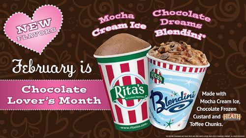 Rita's Italian Ice Introduces Mocha Cream Ice