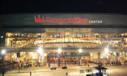 Smoothie King Center Unveiled As New Orleans Prepares To Host NBA All-Star Game