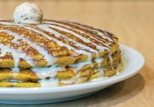 Carve Your Pumpkin Pancakes at Sunny Street Cafe