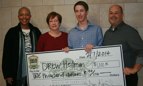 Wingstop Awards High School Scholar Athlete of the Month