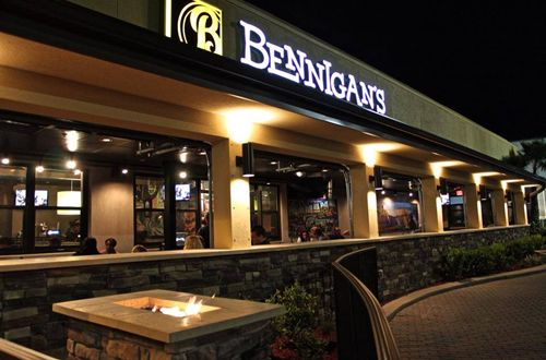 David Hollinger: Bleeding Green for Bennigan's in Northern Florida