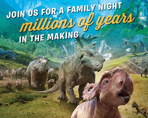 Dinosaurs Come to Life This March at Ryan's, HomeTown Buffet and Old Country Buffet
