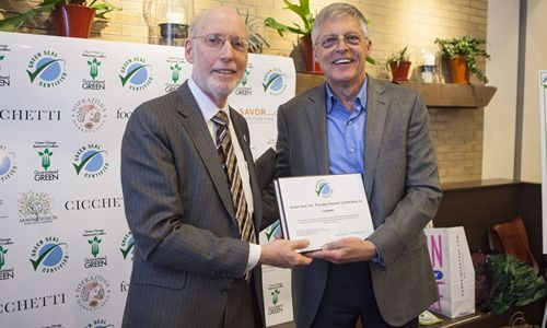 Green Seal, In Conjunction with The Green Chicago Restaurant Coalition and The Rosenthal Group, Launches New National Sustainability Standard For Restaurants and Food Services