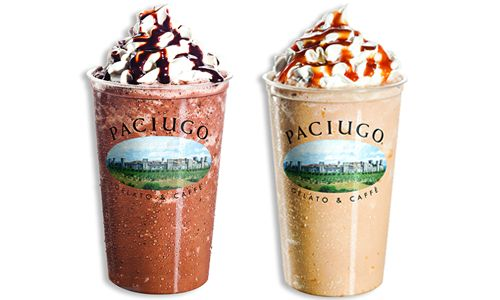 Paciugo Gelato Caffè Springs Forward with Featured Frozen Concoctions