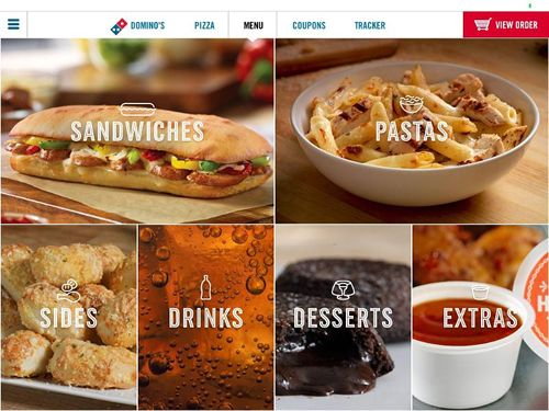 Domino's Pizza Launches New iPad Ordering App