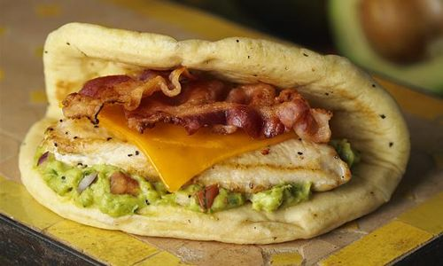 Fuddruckers Fast Casual Chain Takes A Bite Out Of Spring With The Monterey Chicken Flatbread Sandwich