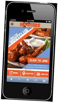 "Hooters ""HootClub"" App and Customer Loyalty Program Tests in Atlanta"