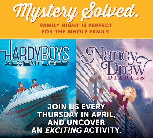 Get a Clue: Ryan's, HomeTown Buffet and Old Country Buffet Celebrate the Relaunch of Nancy Drew and The Hardy Boys