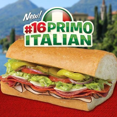 Togo's Introduces The #16 Primo Italian - Premium Hand Sliced Italian Sandwich