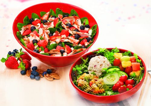 Newk's Popular Red, White and Blueberry Salad Headlines Summer Salad Menu