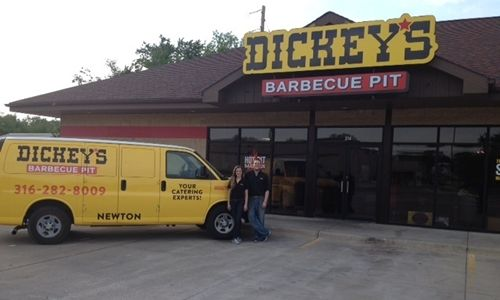 Newton Resident Brings Dickey's Barbecue to His Hometown