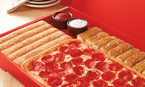 Pizza Hut Announces Early Summer 'Box' Buster: Medium Pizza, Breadsticks And Cinnamon Sticks For Only $8.99