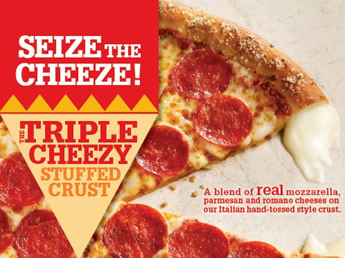 Pizza Inn Declares 'There's No Such Thing As Too Much Cheese'