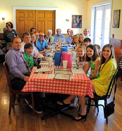 Tennessee Family Celebrates 50th Easter at Nashville Landmark Restaurant