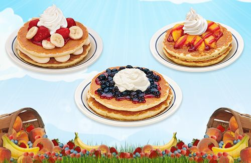 The Tastes of Summer Have Arrived with Three New Signature Pancakes at IHOP Restaurants