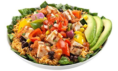 Healthy Dining Menu Options at California Tortilla
