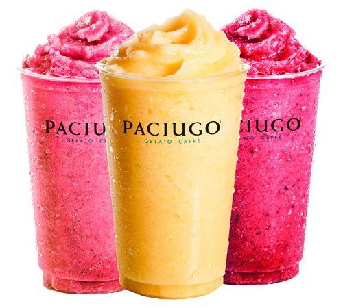 Paciugo Gelato Caffè Adds Gelato-Inspired Smoothies for the Summertime