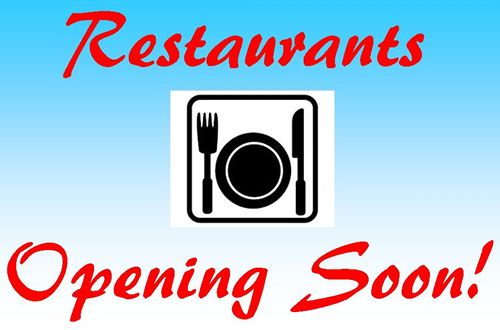 Restaurant Vendors: Stop searching for new restaurants opening soon. We have them!