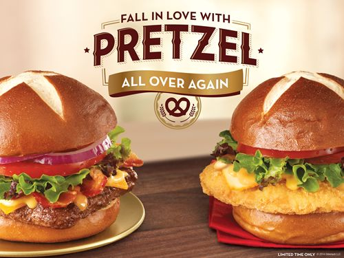 Wendy's Rekindles Pretzel Passion with a Comeback of its Premium Pretzel Bun