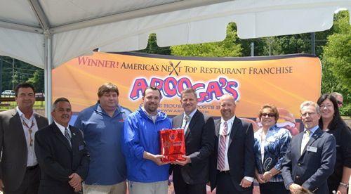 Arooga's & Mohegan Tribe Break Ground for First of 15 New England Restaurants