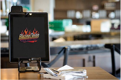 Blazing Onion Burger partners with eTouchMenu for order and payment app