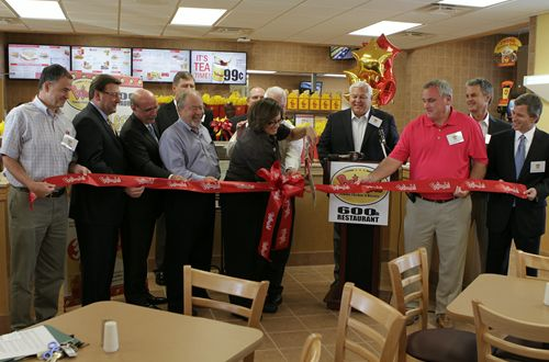 Bojangles' Opens 600th Restaurant