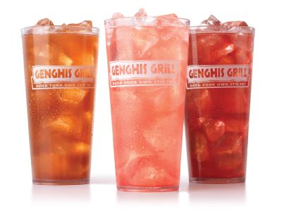 A Sweet Escape: Genghis Grill Chills Out with New Strawberry Summer Drinks
