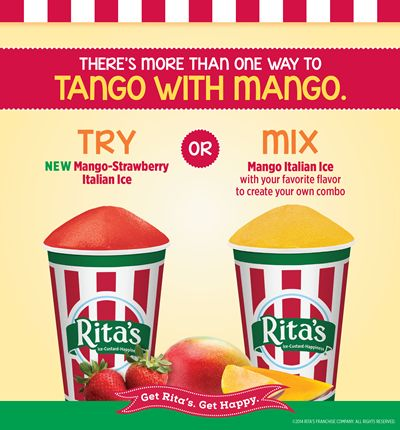 Get Ready to Tango With Rita's #1 Flavor Mango!