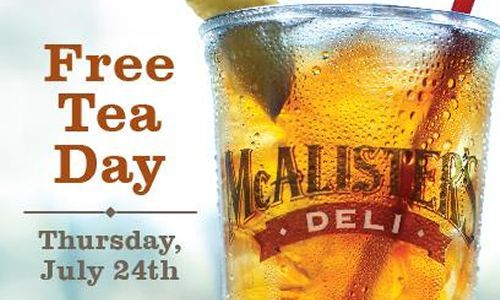 McAlister's Deli Celebrates New Remodel And Grand Re-Opening With Guest Appreciation Week July 21-25