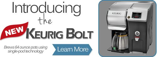 Public Kitchen Supply Announces New Keurig Bolt Commercial Brewing System Now Available!
