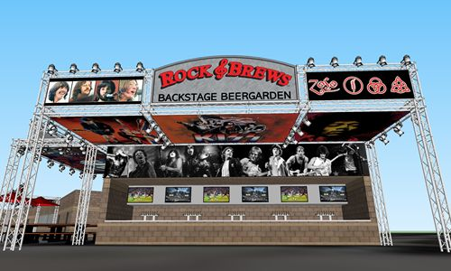 Paul Stanley and Gene Simmons of KISS Expand Their Restaurant Brand Introducing Venue-friendly Rock & Brews Restaurant Concept