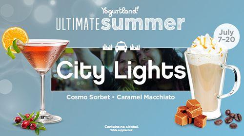 Vacation Hot Spots Inspire Yogurtland's 10 New Cool Summer Flavors