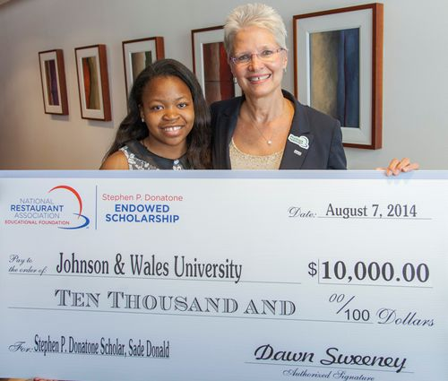 Inaugural Stephen P. Donatone Endowed Scholarship Presented To Chicago-Area High School Graduate