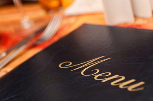 Americans Growing Tired of Long Restaurant Menus