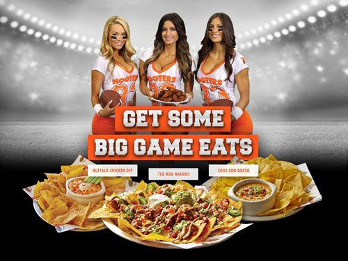 Hooters Kicks off Football Season with Shareable Game Day Eats