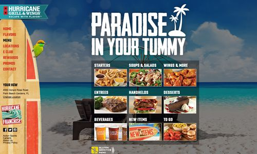Hurricane Grill & Wings Debuts Redesigned Website