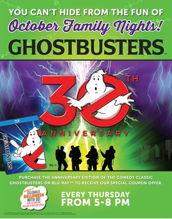 Ryan's, HomeTown Buffet And Old Country Buffet Show They Aren't Afraid Of Any Ghosts With October Family Night
